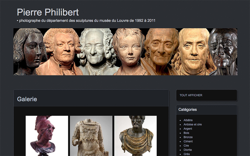 Site de Pierre Philibert